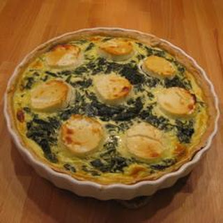 Bacon, Spinach and Goats Cheese Quiche