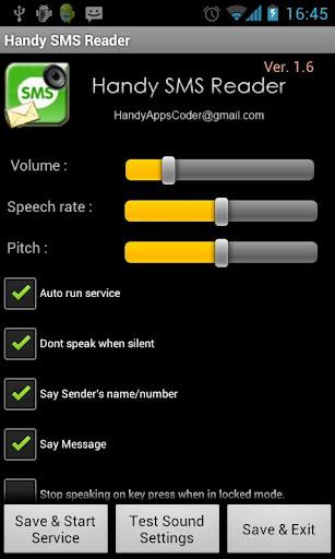 Handy SMS Reader