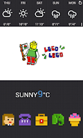 Screenshot of Lego Lego Block Dodol Theme