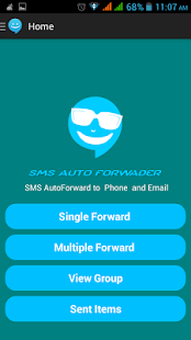 SMS AUTO FORWARDER - screenshot
