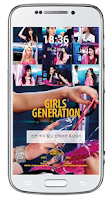 Screenshot of SNSD Lockscreen