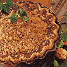 Pumpkin Pie with Ginger Streusel