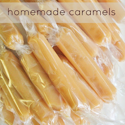 Delicious Homemade Caramels