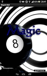 Magic8 Ball - screenshot