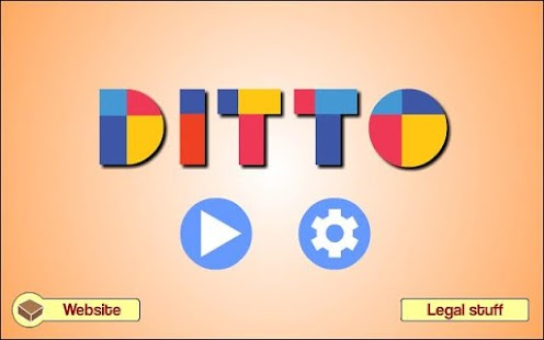 Ditto - Shape Puzzle - screenshot