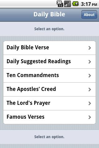 Free Daily Bible