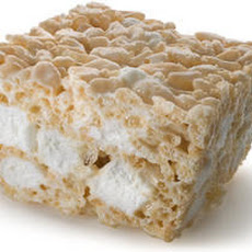 Double Marshmallow Puffed Rice Treats Recipe
