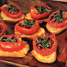 Slow-Roasted Tomato Crostini