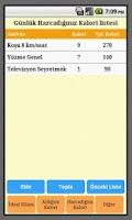 Screenshot of Cep Diyeti