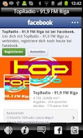 Screenshot of TOPradio