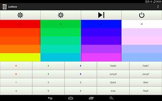 Screenshot of LedMote - LED remote control