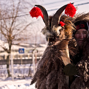Countryside winter traditions by Ioana Laura - People Portraits of Men