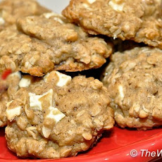Brown Butter, Oatmeal, and White Chocolate Chip Cookies