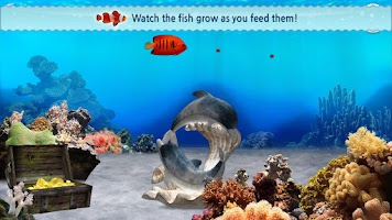 Screenshot of 3D Ocean☆Aquarium-Tablet