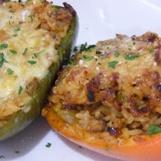 Stuffed Peppers With Pork and Rice