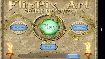 Screenshot of FlipPix Art - Simple Pleasures