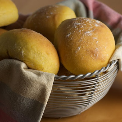 Sweet Potato Buttermilk Dinner Rolls