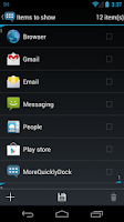 Screenshot of MoreQuicklyDock