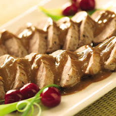 Pork Tenderloins with Asian Peanut Sauce