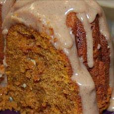 White Chip Pumpkin Spice Cake