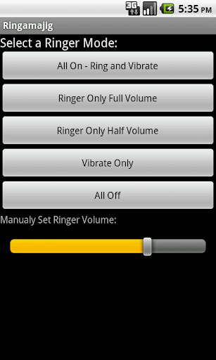Ringamajig Ringer Controller