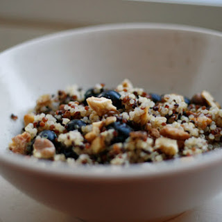 Warm and Nutty Cinnamon Quinoa