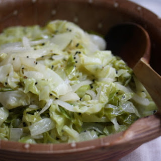 Cabbage with Mustard Seeds