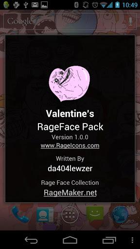 RageFace Valentine's Pack