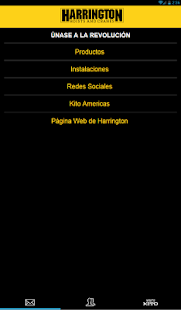 Harrington Spanish Mobile - screenshot