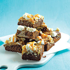 Caramel-Marshmallow Brownies
