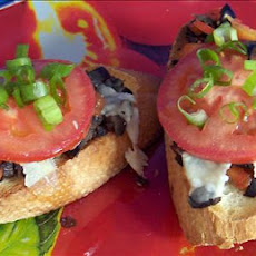 Kalamata and Tomato Crostini