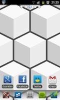 Screenshot of Cube HD Go Launcher Theme