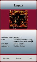 Screenshot of Bollywood Calendar 2013