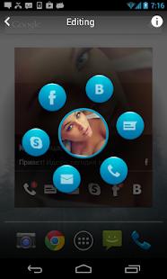 Скачать контакт виджет андроид