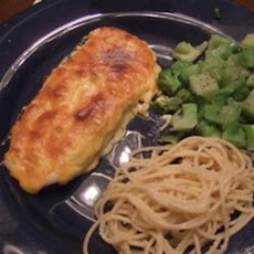 Garlic Parmesan Orange Roughy
