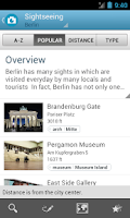 Screenshot of Berlin Travel Guide