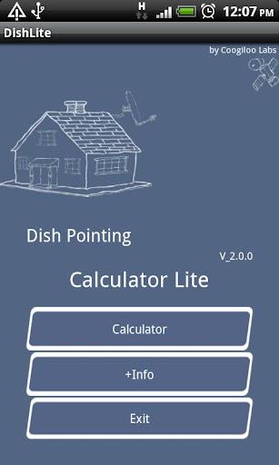 Dish Pointing Calculator Lite