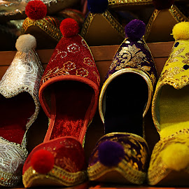 Ottoman shoes / 2 by Berrin Aydın - Artistic Objects Clothing & Accessories (  )