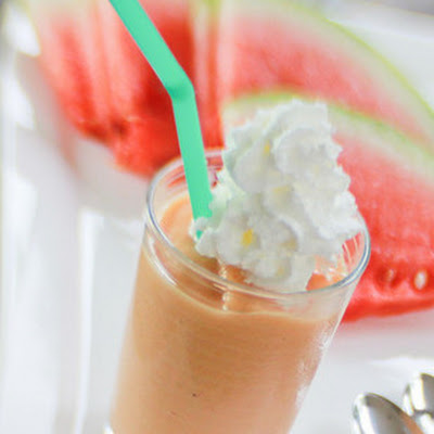 Watermelon Banana Smoothie