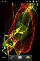 Screenshot of aniBrush Abstract Live W.P.