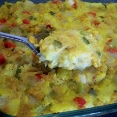 Low Carb Summer Squash Casserole