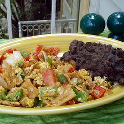 Migas with Fresh Tortillas