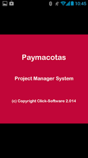 Paymacotas Project Manager - screenshot