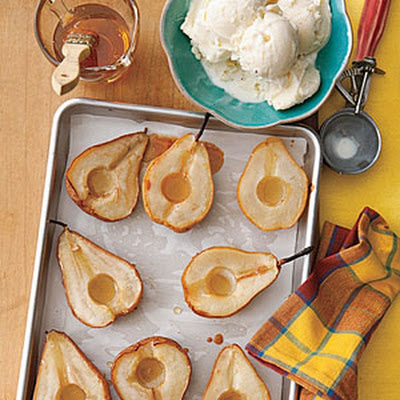 Honey-Roasted Pears