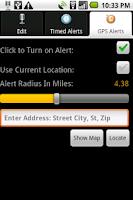 Screenshot of DroidRecord PRO