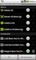 Screenshot of BN Pro Black Text on White