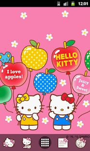 Hello Kitty Fruit Balloons - screenshot