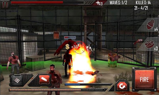 Zombie Roadkill 3D - screenshot