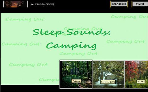 Sleep Sounds: Camping