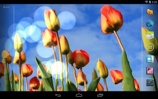 Screenshot of Flower Live Wallpaper